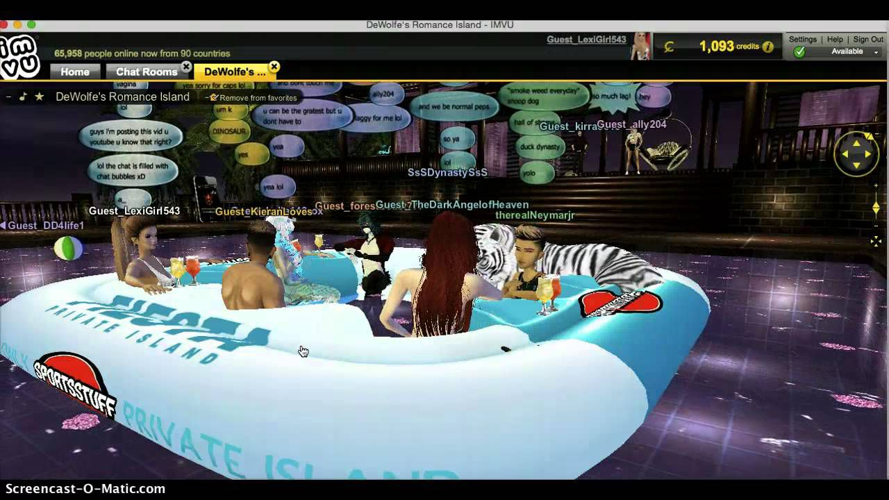 IMVU Chatroom