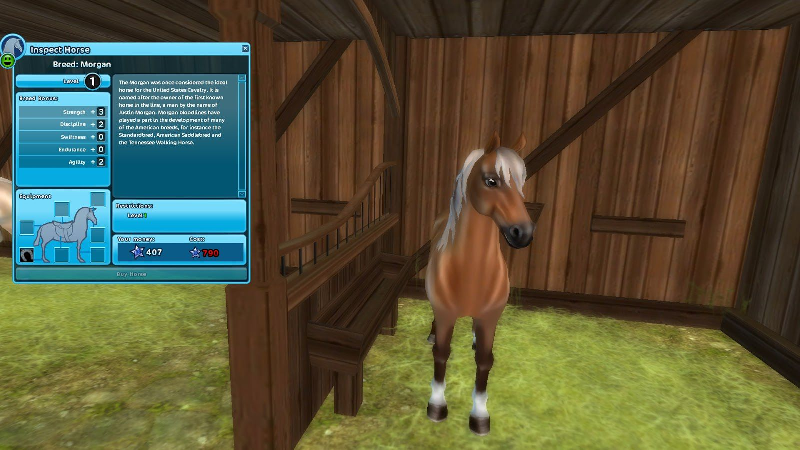 Star Stable Breeds