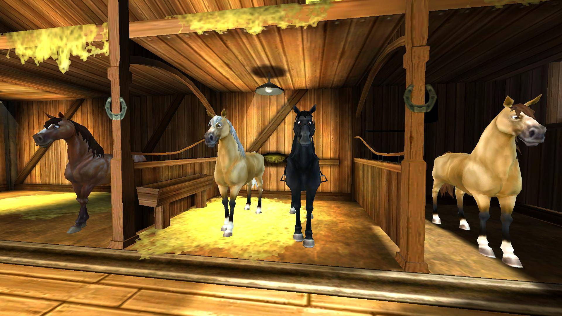 Star Stable Stable Inside