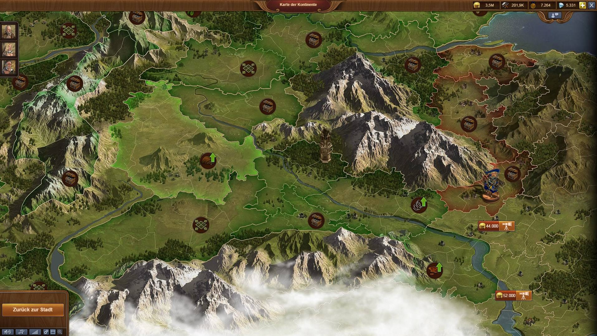 Forge of Empires Continent