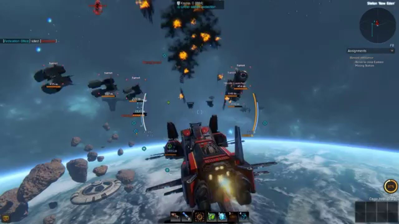 Star Conflict Battle