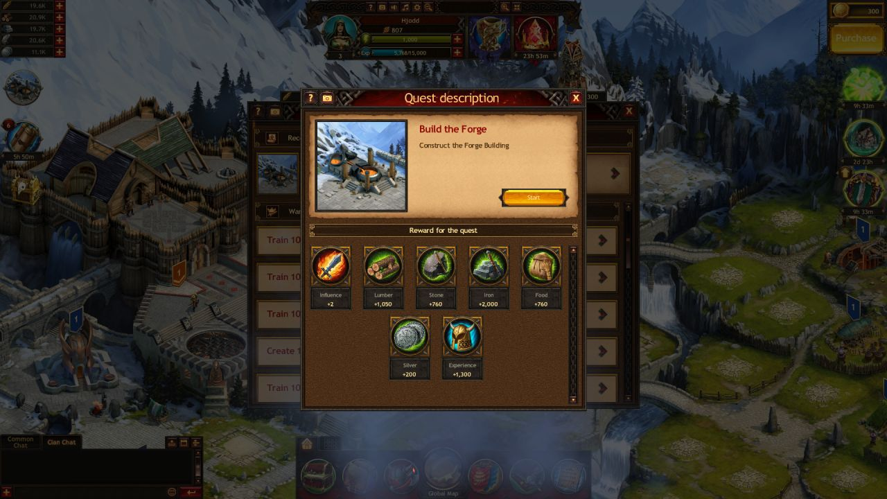 Vikings: War of Clans Quests