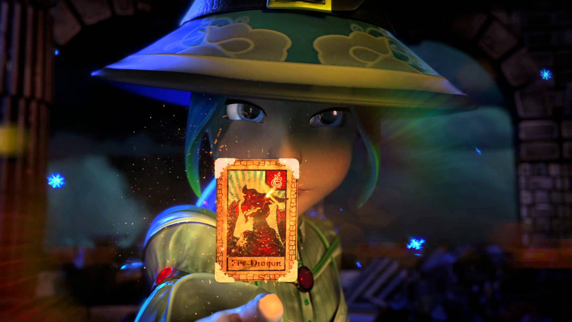 Wizard101 Card acquired
